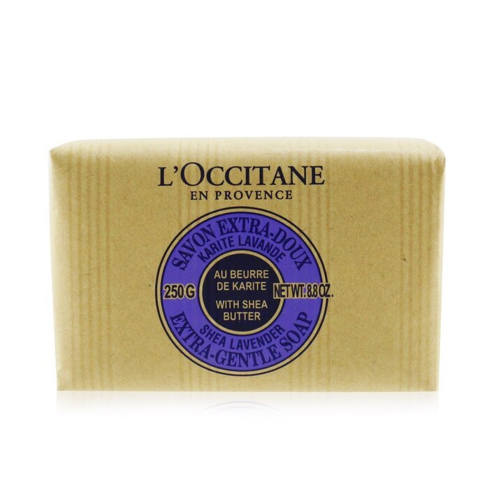 Shea Butter Extra Gentle Soap - Lavender 250g/8.8oz - Product Image