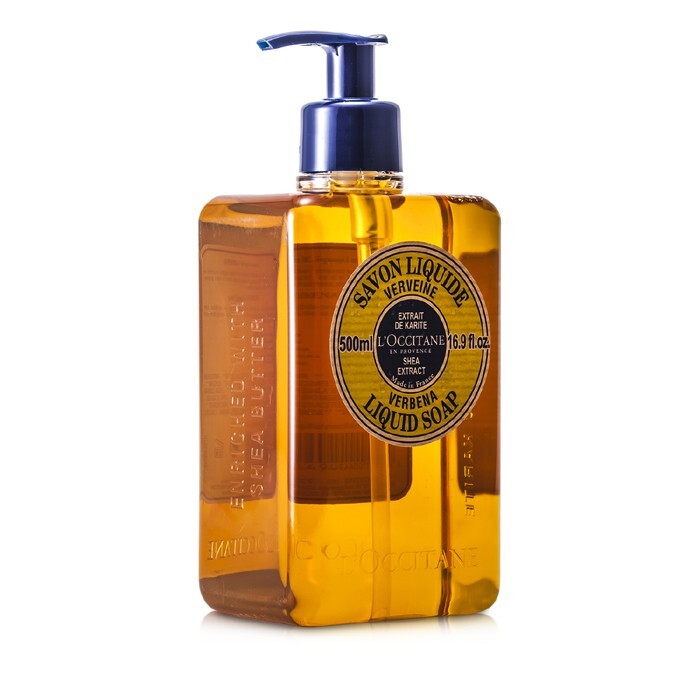Shea Butter Liquid Soap - Verbena 500ml/16.9oz - Product Image