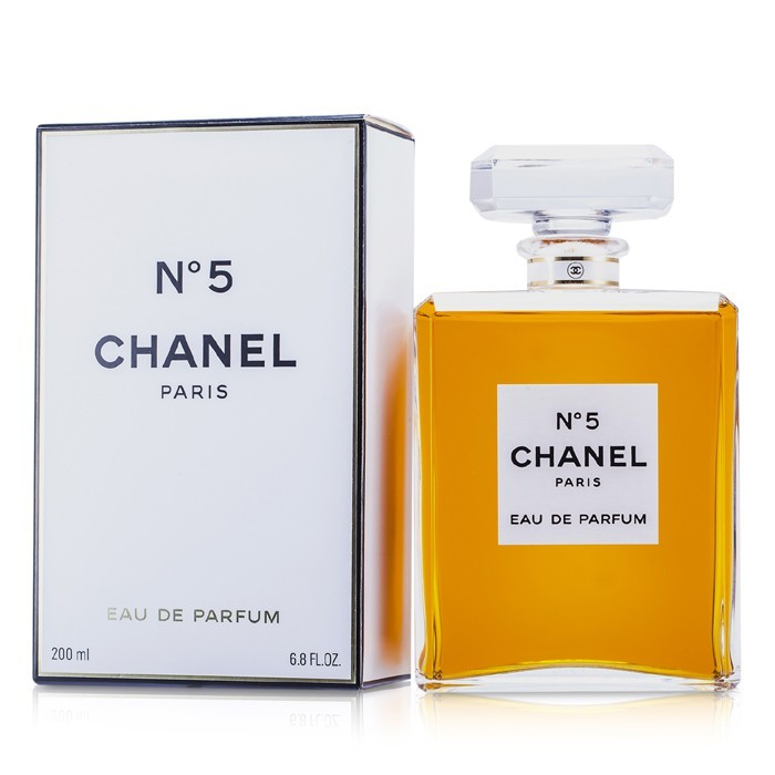 chanel no 5 eau de parfum bottle 200ml cosmetics now. Black Bedroom Furniture Sets. Home Design Ideas