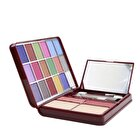 Cameleon MakeUp Kit G0139 (18x Eyeshadow, 2x Blusher, 2x Pressed Powder, 4x Lipgloss) - 2