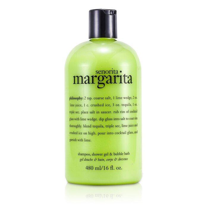 philosophy senorita margarita shampoo bath amp shower gel bubble bath shower gel with essential oils cloud by