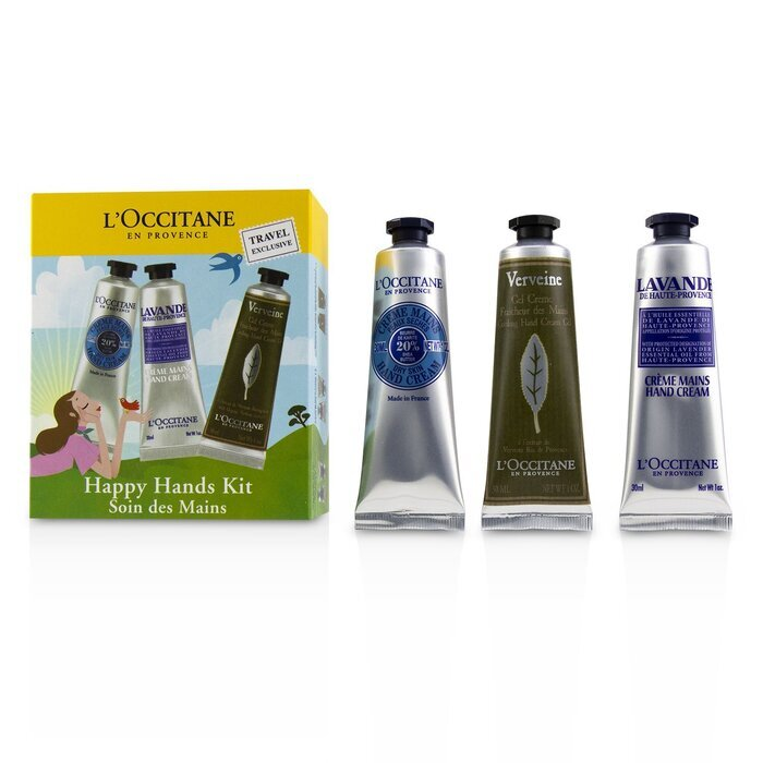 Happy Hands Kit: 2x  Shea Butter 30ml + 2x Lavender 30ml + 2x Cooling Hand Gel 30ml 6x30ml/1oz - Product Image
