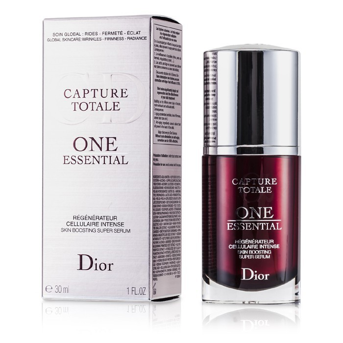 christian dior capture totale one essential skin boosting super serum 30ml 1oz cosmetics now us. Black Bedroom Furniture Sets. Home Design Ideas