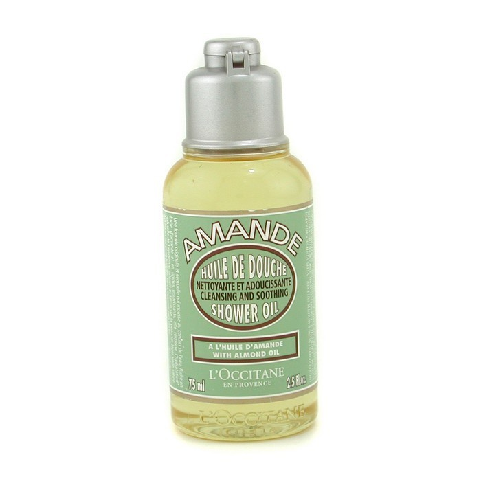 Almond Cleansing & Soothing Shower Oil (Travel Size) 75ml/2.5oz - Product Image