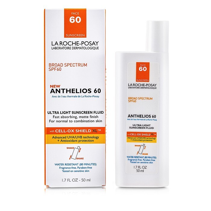 la roche posay anthelios 60 ultra light sunscreen fluid normal. Black Bedroom Furniture Sets. Home Design Ideas
