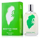 Benetton Verde Eau De Toilette Spray 100ml/3.4oz