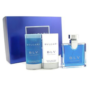 Blv Coffret: Eau De Toilette Spray 50ml/1.7oz+ After Shave Balm 75ml/2.5oz + Shower Gel 75ml/2.5oz 3pcs - Product Image