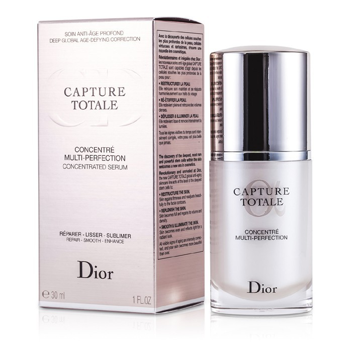 christian dior capture totale multi perfection concentrated serum 30ml 1oz cosmetics now us. Black Bedroom Furniture Sets. Home Design Ideas