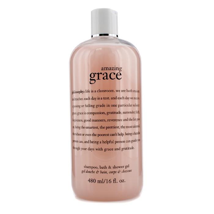 philosophy amazing grace perfumed shampoo bath amp shower amazon com philosophy amazing grace spray fragrance 4
