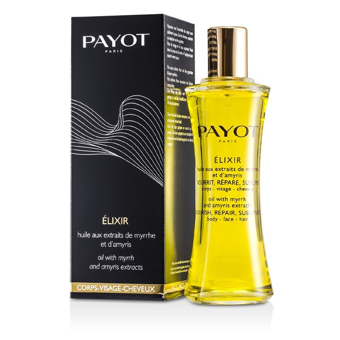Payot Le Corps Elixir Oil with Myrrh &amp Amyris Extracts (For Body Face &amp Hair) 100ml Europa - Clarins Relax Bath & Shower Concentrate