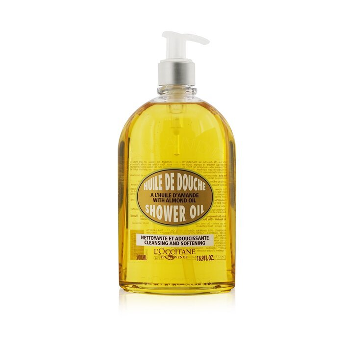 Almond Cleansing & Soothing Shower Oil 500ml/16.7oz - Product Image
