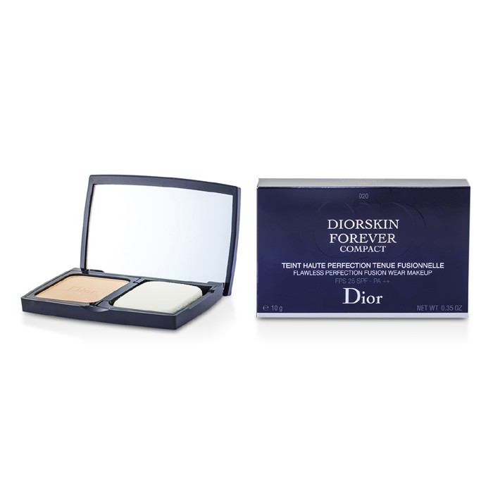 Diorskin Forever Compact Flawless Perfection Fusion Wear Makeup SPF 25 - #020 Light Beige 10g/0.35oz - Product Image