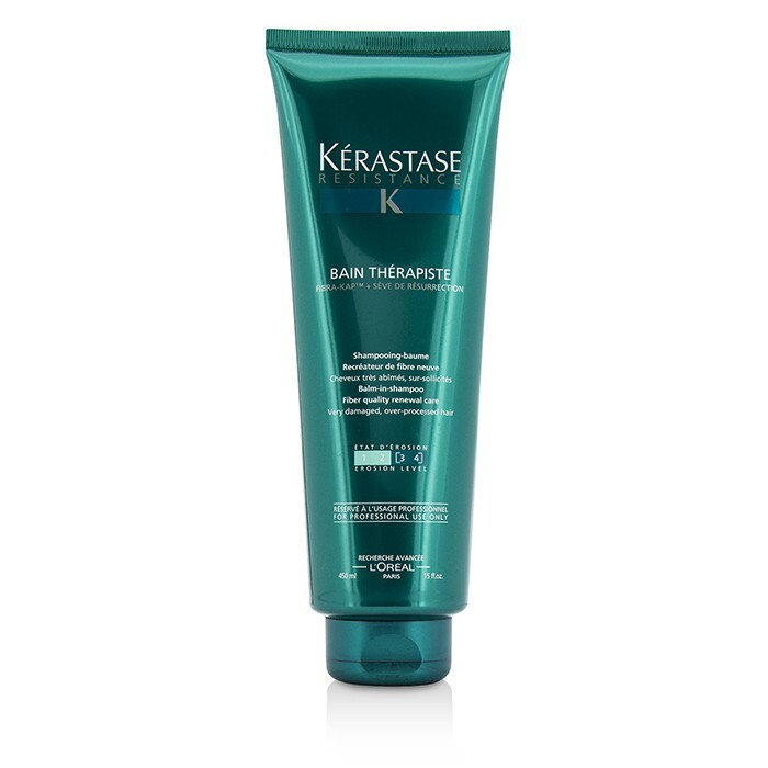 kerastase resistance bain therapiste balm in shampoo fiber quality renewal care for very. Black Bedroom Furniture Sets. Home Design Ideas