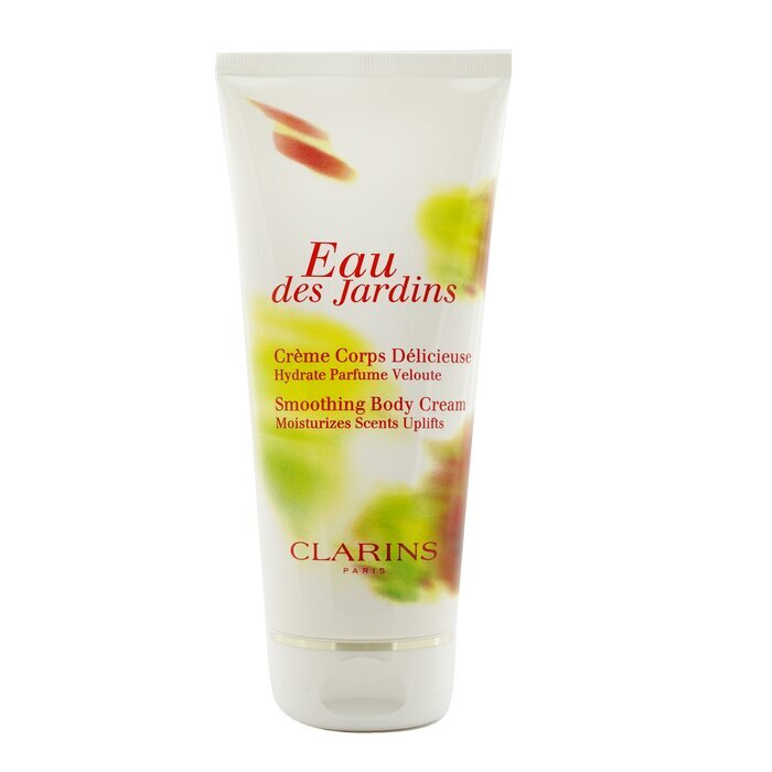 clarins eau des jardins smoothing body cream 200ml cosmetics now us. Black Bedroom Furniture Sets. Home Design Ideas
