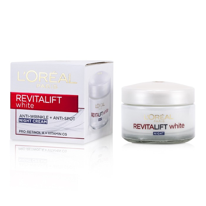 review loreal revitalift white