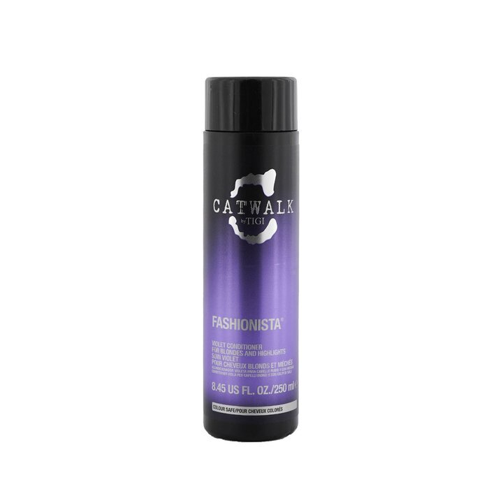 Tigi Catwalk Fashionista Violet Conditioner For Blondes And Highlights 250m