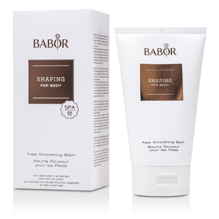 Babor shaping for body - feet smoothing balm 150ml косметика now россия.