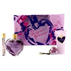 Vera Wang Princess Coffret: Eau De Toilette Spray 100ml/3.4oz + Satiny Body Lotion 75ml/2.5oz + Lip Gloss Keychain 2g/0.07oz + Eau De Toilette Rollerball 10ml/0.33oz 4pcs