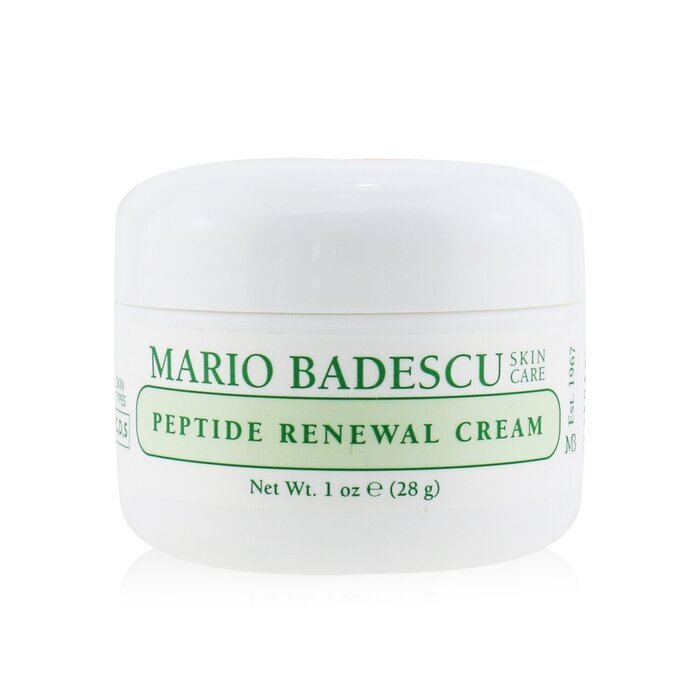 Face cream with peptides