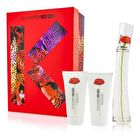 Kenzo Flower Coffret: Eau De Parfum Spray 50ml/1.7oz + Creamy Body Milk 50ml/1.7oz + Milky Shower Gel 50ml/1.7oz 3pcs