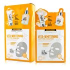Secret A Skin Guardian 3 Step Total Facial Mask Kit - Vita-Whitening 10x29ml/0.98oz