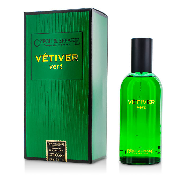 czech speake vetiver vert cologne spray 100ml. Black Bedroom Furniture Sets. Home Design Ideas
