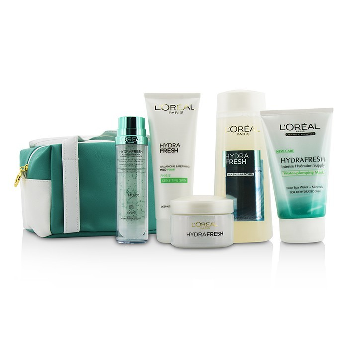 Oreal Hydrafresh Spa Experience Set Mask Lotion
