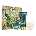 Heathcote & Ivory Enchanted Walk Hand & Body Treats: Hand Cream 100ml/3.38oz + Body Butter 50ml/1.69oz + Soap 80g/2.82oz 3pcs