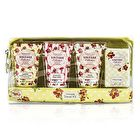 Heathcote & Ivory Vintage Mimosa & Pomegranate Weekend Travel Kit: Shower Gel 30ml/1.01oz + Body Cream 30ml/1.01oz + Hand Cream 30ml/1.01oz + Soap 25g/0.88oz 4pcs