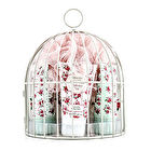 Heathcote & Ivory Vintage Rose Miniature Birdcage with Bath & Body Essentials 4pcs