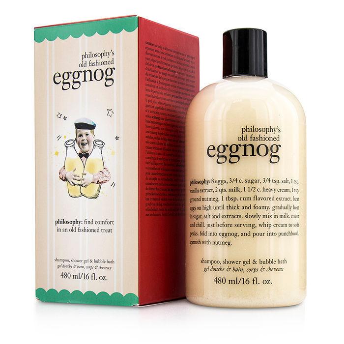 Philosophys Old Fashioned Eggnog Shampoo Shower Gel