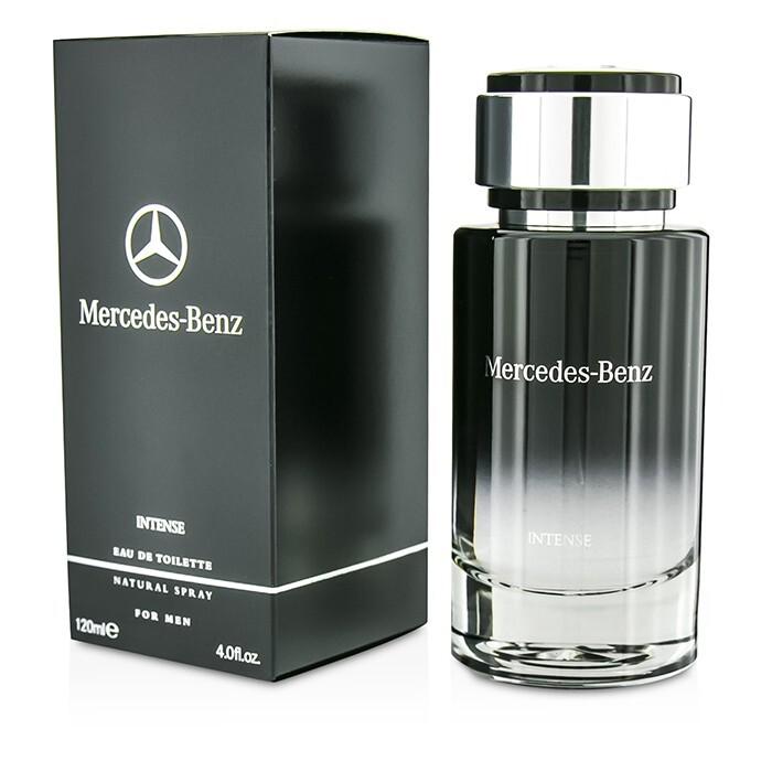 Mercedes benz intense eau de toilette spray 120ml for Mercedes benz intense perfume