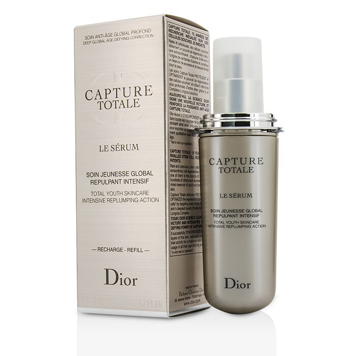 christian dior capture totale le serum refill 50ml cosmetics now us. Black Bedroom Furniture Sets. Home Design Ideas