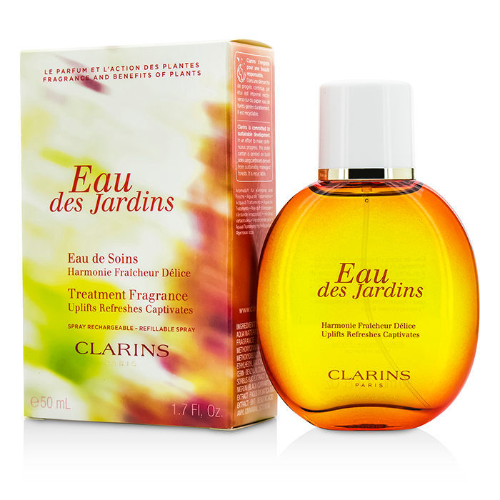 clarins eau des jardins spray 50ml cosmetics now us. Black Bedroom Furniture Sets. Home Design Ideas