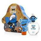 The Smurfs Brainy Coffret: Eau De Toilette Spray 100ml/3.4oz + Shower Gel 75ml/2.5oz + Key Chain 3pcs