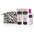 Victoria's Secret Sexy Little Things Noir Tease Coffret: Body Mist 125ml/4.2oz + Body Lotion 100ml/3.4oz + Body Wash 100ml/3.4oz + Pouch 3pcs+1pouch