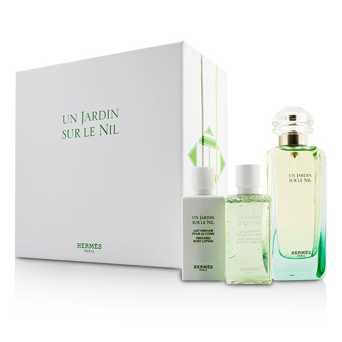 hermes un jardin sur le nil coffret eau de toilette spray. Black Bedroom Furniture Sets. Home Design Ideas