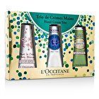 L'Occitane Hand Trio Collection: Cherry Blossom + Shea Butter + Almond Hand Cream 3pcs