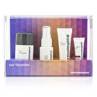 Dermalogica Our Favorites Set: Daily Microfoliant + Toner + Masque + Power Firm 4pcs