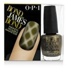 OPI Magnetic Lacquers & Magnetizers - #Bond...James Bond -