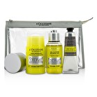 L'Occitane Cedrat Energizing Kit: Deodorant Stick 75g/2.5oz + Shower Gel 75ml/2.5oz + After Shave Cream Gel 30ml/1oz 3pcs