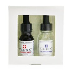 Cellex-C Advanced-C Serum 2 Step Starter Kit: Advanced-C Serum + Skin Hydration Complex 2x15ml/0.5oz