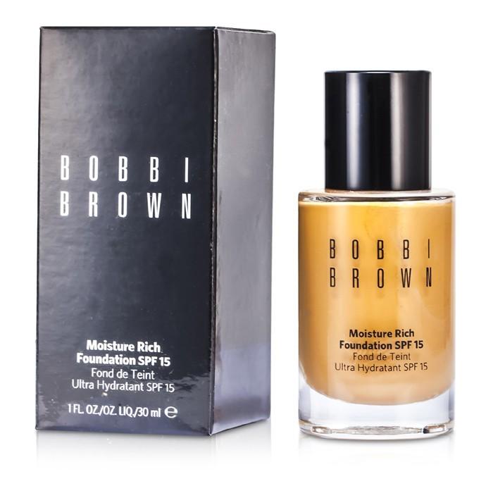 Bobbi Brown Moisture Rich Foundation SPF15 - #4.5 Warm Natural 30ml   Cosmetics Now Australia