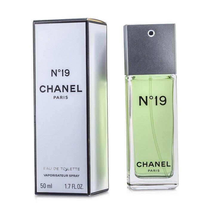 chanel no 19 eau de toilette spray non refillable 50ml cosmetics now australia