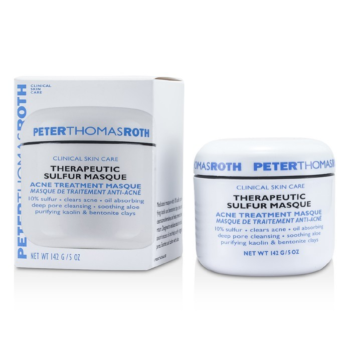 peter thomas roth therapeutic sulfur masque acne treatment 149g cosmetics now uk. Black Bedroom Furniture Sets. Home Design Ideas