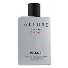 Chanel Allure Homme Sport Hair & Body Wash (Made in USA) 200ml/6.8oz