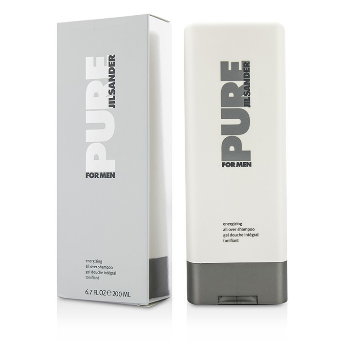 jil sander pure for men energizing all over shampoo 200ml. Black Bedroom Furniture Sets. Home Design Ideas