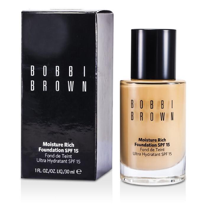 Bobbi Brown Silver with Chain On Corner Black Inside Makeup Cosmetic Bag $ $ Bobbi Brown Eye Shadow