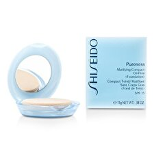 Shiseido Pureness Matifying Compact Oil Free Foundation SPF15 (Case + Refill) - # 10 Light Ivory 11g/0.38oz