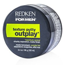Redken Mens Outplay Texture Putty Maximum Control 100ml/3.4oz